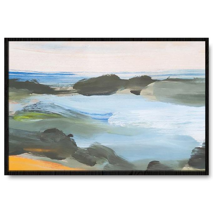 TRANH TRỪU TƯỢNG BLUE, SEA, BEACH