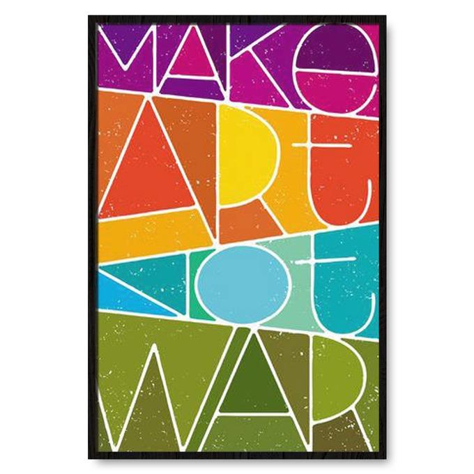 TRANH TREO TƯỜNG MẠKE ART NOT WAR
