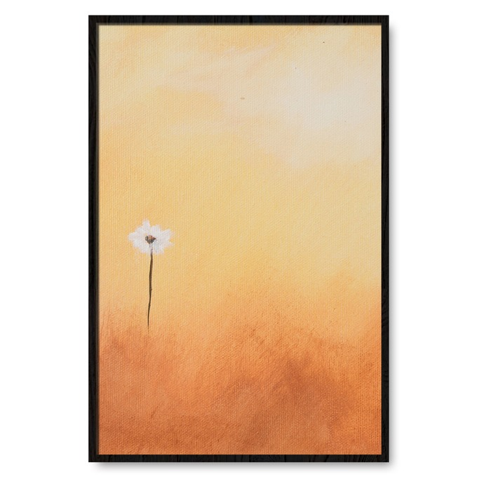 TRANH TREO TƯỜNG WHITE FLOWER PAINTING