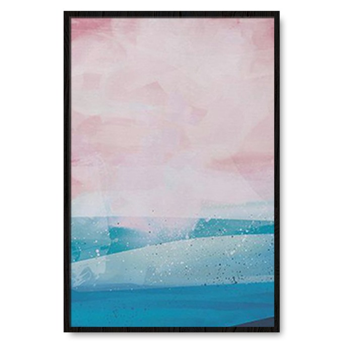 TRANH TRỪU TƯỢNG SEA, BLUE, PINK