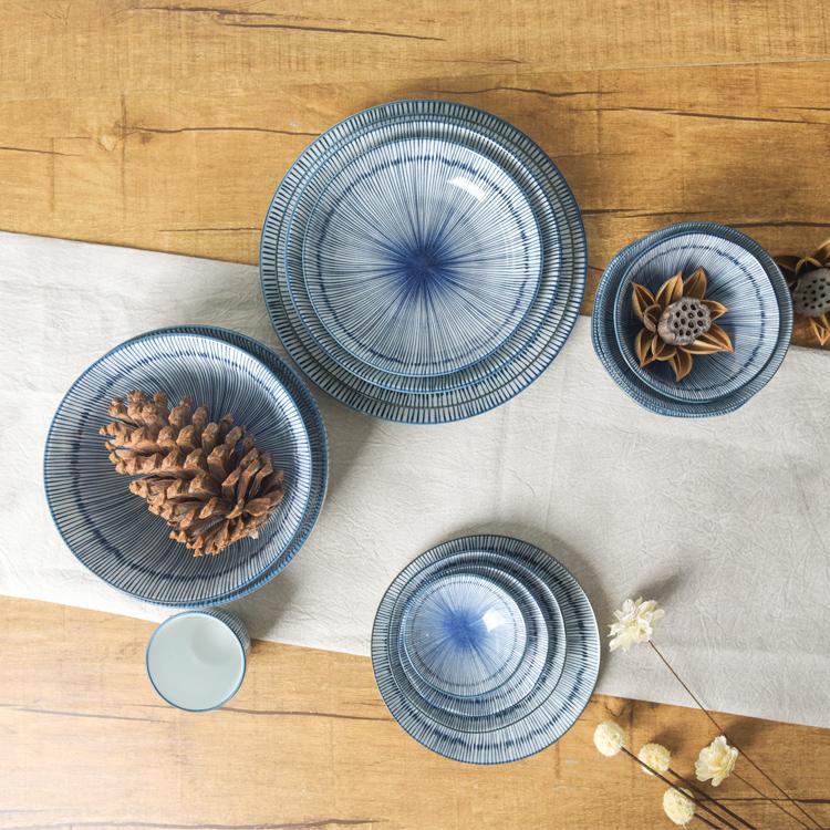 Bộ bát đĩa đẹp trang trí nhà cửa